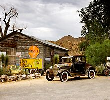 Hackberry General Store on Route 66, Arizona by Carol M.  Highsmith