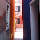 Burano Alleyway by Matthew Pugh