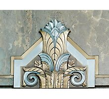 Art Deco Detail in the Adams Building, Library of Congress, Washington D.C. Photographic Print