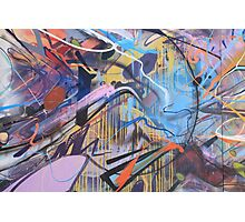 Colorful Graffiti Abstract Photographic Print
