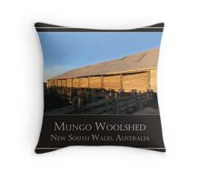 Mungo Woolshed Throw Pillow