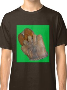 Two Vintage Baseball Mitts Classic T-Shirt