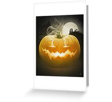 Pumpkin I. Greeting Card