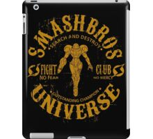 Planet Zebes Champion iPad Case/Skin