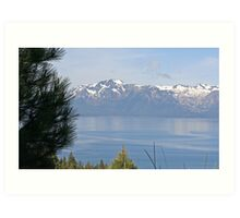"""Lake Tahoe and Mount Tallac"" Art Print"