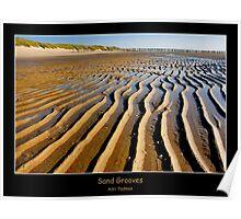 Sand Grooves Poster
