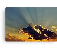 The Rays Canvas Print