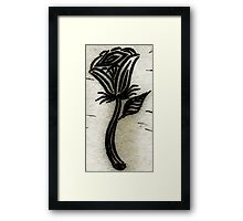 Age of the Rose Framed Print