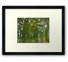 Wibble Wobble Framed Print