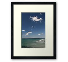 Donegal Surf Framed Print