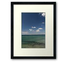 Surf swell. Framed Print