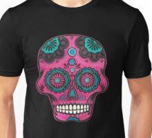 Sugar Skull-Pink Candy Unisex T-Shirt