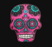 Sugar Skull-Pink Candy Unisex T-Shirt