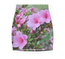 Pink Azaleas in the Garden Mini Skirt