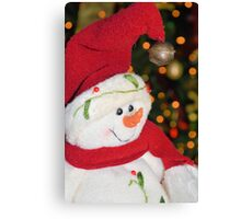 Frosty Christmas 1 Canvas Print