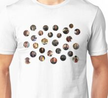 Teen Wolf Cast Dots Unisex T-Shirt