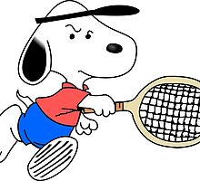 Arcade Classic - Snoopy Tennis by cubicspin