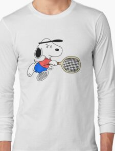 Arcade Classic - Snoopy Tennis Long Sleeve T-Shirt
