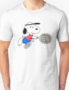 Arcade Classic - Snoopy Tennis Unisex T-Shirt