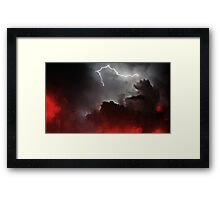 Lightning Framed Print