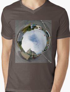 Glencolmcille - Biddy's Crossroads Pub(Sky-in) Mens V-Neck T-Shirt