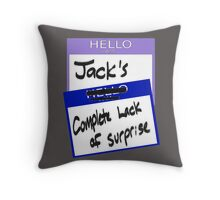 "Fight Club: ""I AM JACK'S COMPLETE LACK OF SURPRISE"" Throw Pillow"