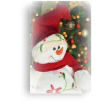 Frosty Christmas 2 Canvas Print