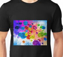 When Rainbows Melt Into Bubbles Unisex T-Shirt