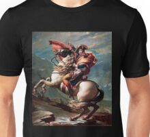 Napoleon Crossing the Alps Unisex T-Shirt