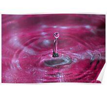 Liquid Sculpture Poster