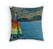 Out for a Sail Throw Pillow