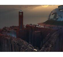 Moon Tower Photographic Print