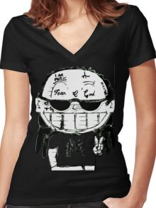 Young Weezy Women's Fitted V-Neck T-Shirt