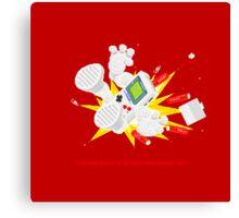 "8 Bit Buzz Bot v3.0.4 ""GameBoid""  Canvas Print"