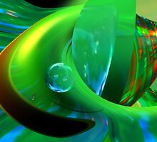 Liquid Green by Elaine Bawden