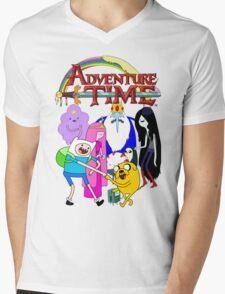 Adventure Time! Mens V-Neck T-Shirt