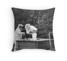 Beekeepers Throw Pillow