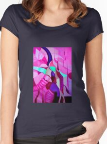 THE CHASE 2.0   Women's Fitted Scoop T-Shirt