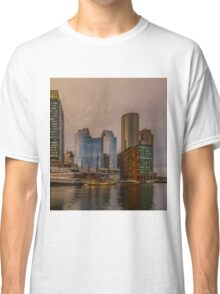 View on Boston tea party Classic T-Shirt