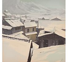 Winter Town Photographic Print