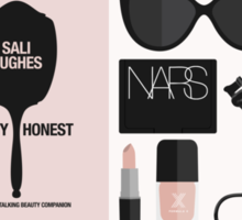 Beauty Blogger Flatlay Sticker