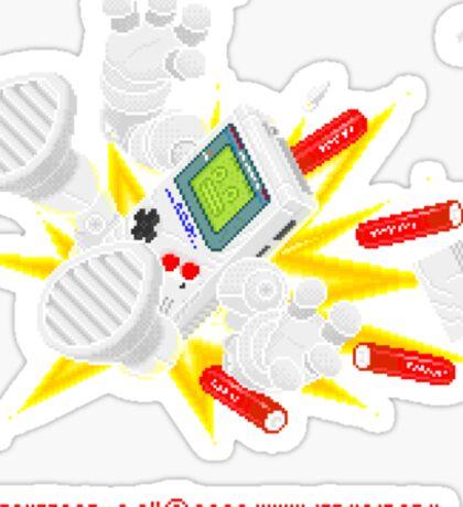 """8 Bit Buzz Bot v3.0.1 """"GameBoid""""  Sticker"""