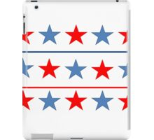 Red, White and Blue Stars iPad Case/Skin