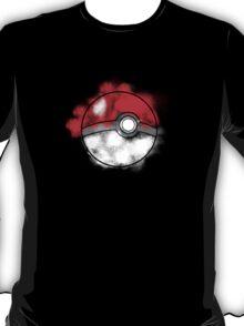 Splatter Paint Poke Ball T-Shirt
