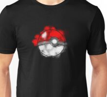 Splatter Paint Poke Ball Unisex T-Shirt