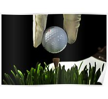 Golfer Poster