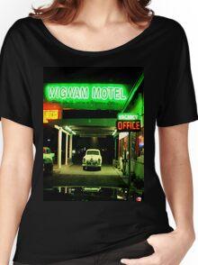 Wig Wam Motel, Holbrook, AZ Women's Relaxed Fit T-Shirt