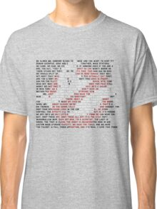 Ghostbusters Quote Logo Classic T-Shirt