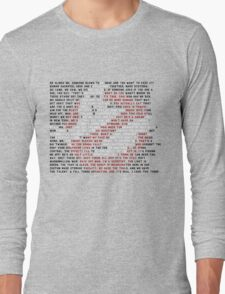 Ghostbusters Quote Logo Long Sleeve T-Shirt