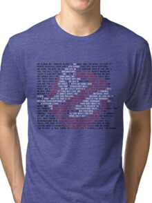 Ghostbusters Quote Logo Tri-blend T-Shirt